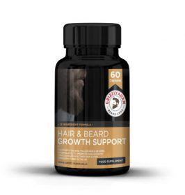 Grizzly Adam Hair and Beard Growth Support - Facial Hair Supplement
